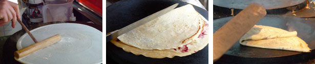 Crepe backen